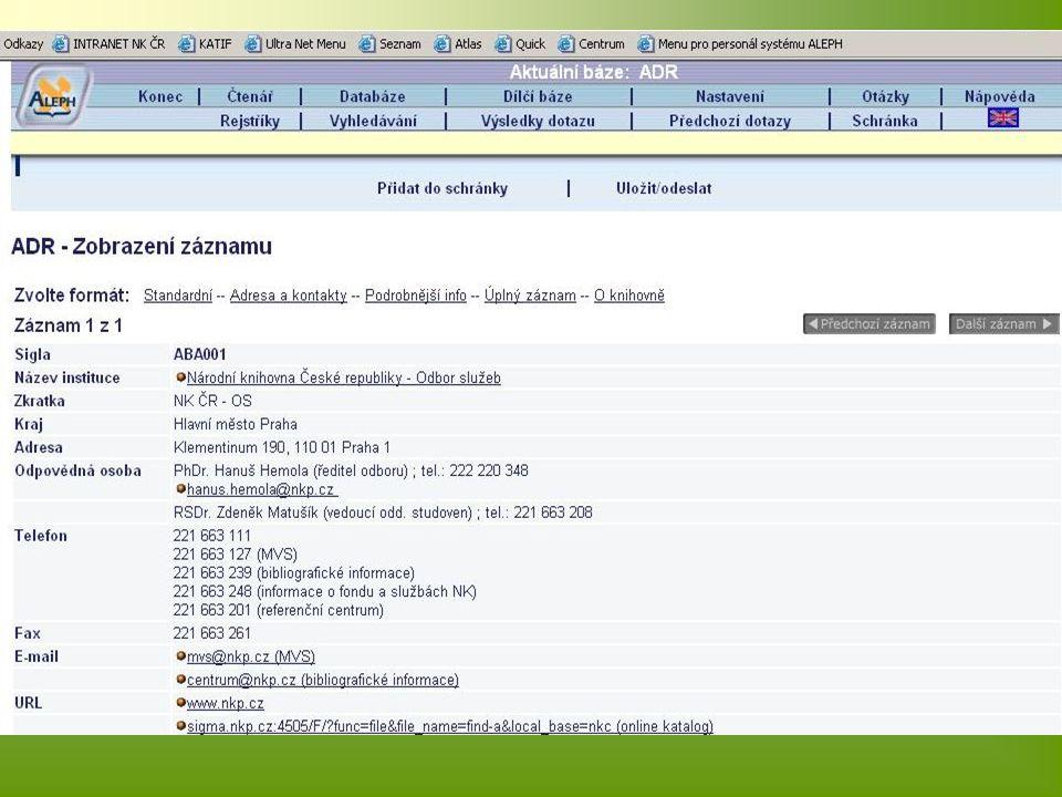 Aktualizace odběru Opravy v soupisech – ruční opravy správce Elektronicky – knihovny, které zaslaly záznamy (import jen vybraných polí) On-line (příprava formuláře)