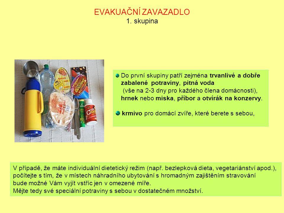 EVAKUAČNÍ ZAVAZADLO 2.