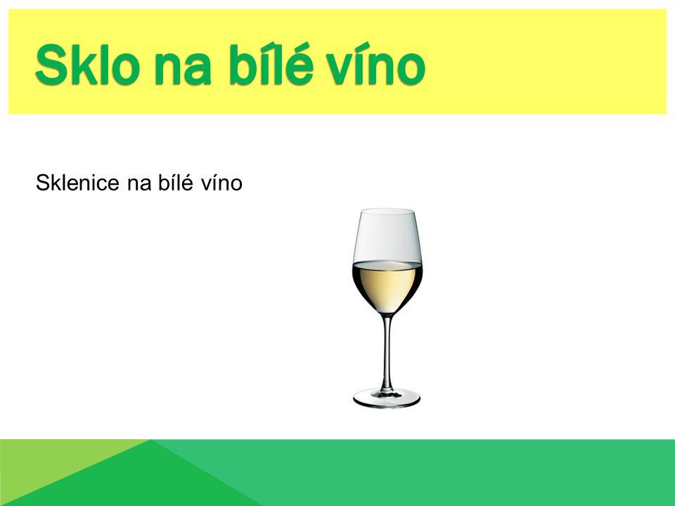 - Tastevin - Degustační sklenka - Vývrtka - Dekantovací košíček - Dekanter - Teploměr - Termoizolační tubus - Sklenice - chladič na víno - Uzávěr na otevřená vína - Ořezávátko na kapsli - Uvolňovací kleště