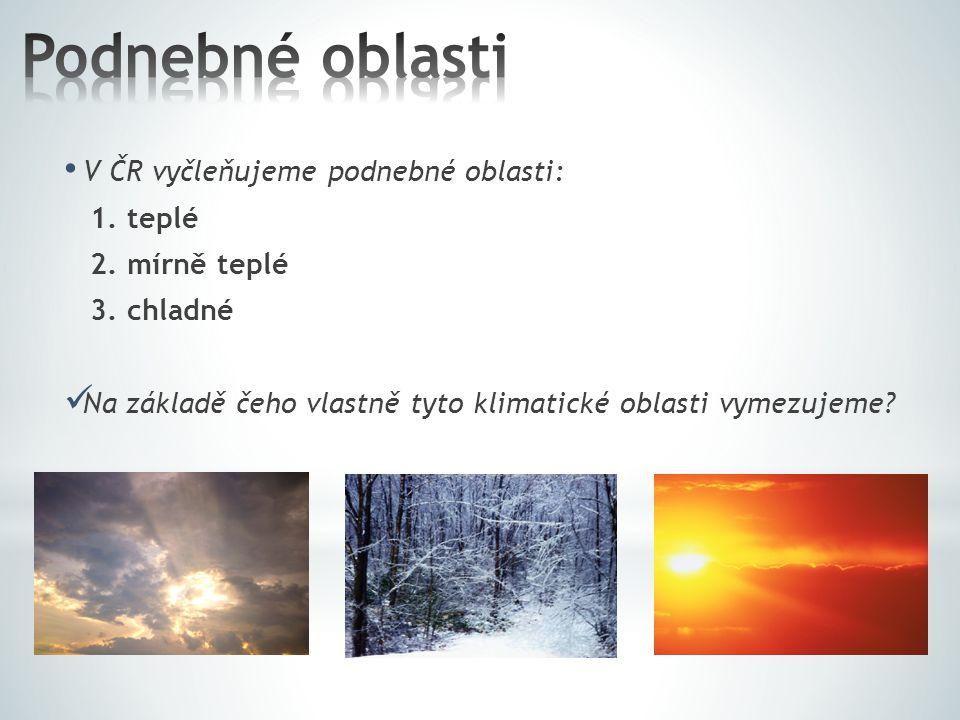 S pomocí atlasu ČR se pokuste o stručnou charakteristiku.