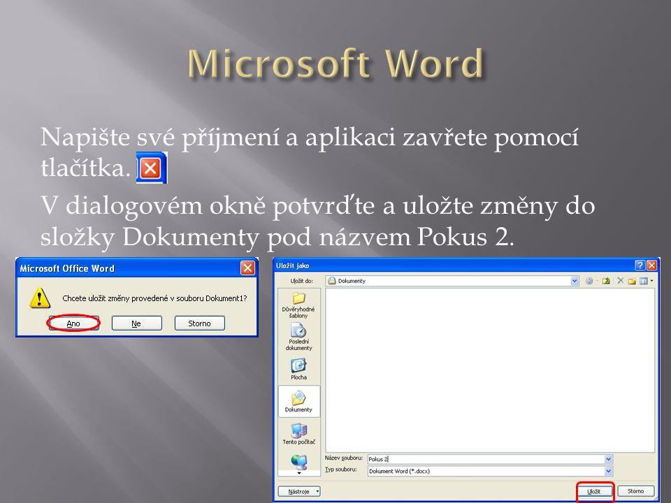 V nabídce Start vyberte aplikaci Tento počítač (Počítač) a klikněte na ni levým tlačítkem myši.