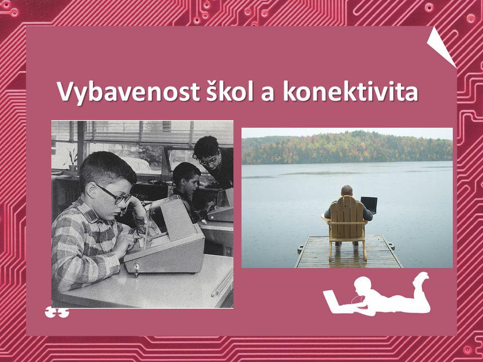 Vybavenost škol a konektivita
