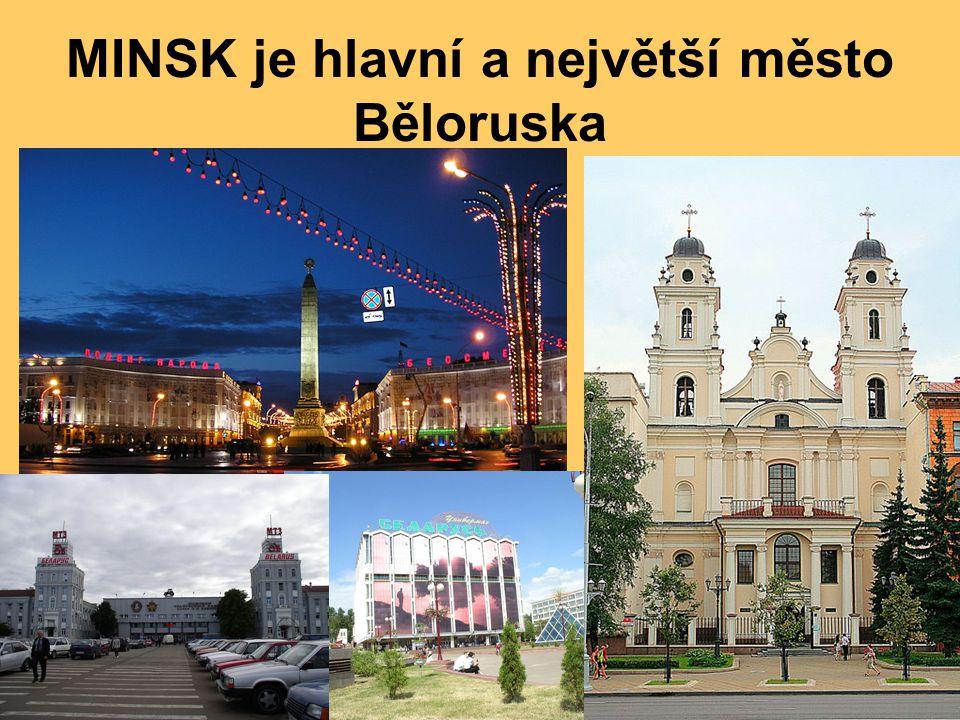 MINSK je hlavní a největší město Běloruska