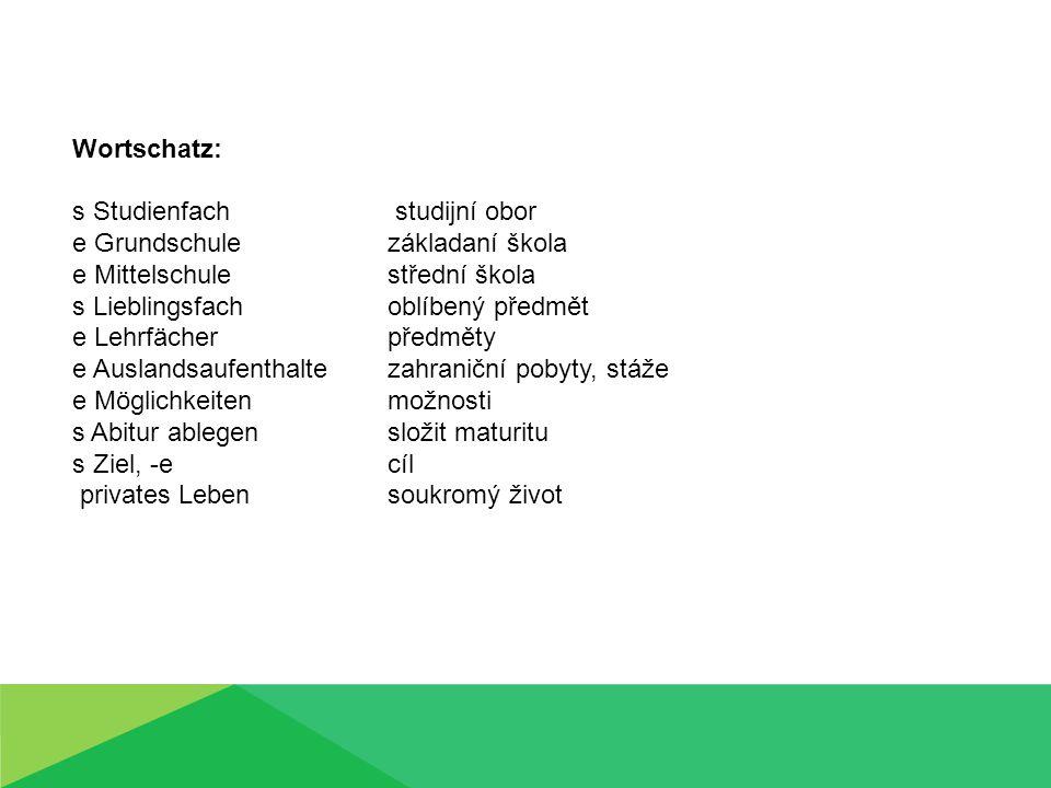 Wortschatz – wie ist das tschechisch.
