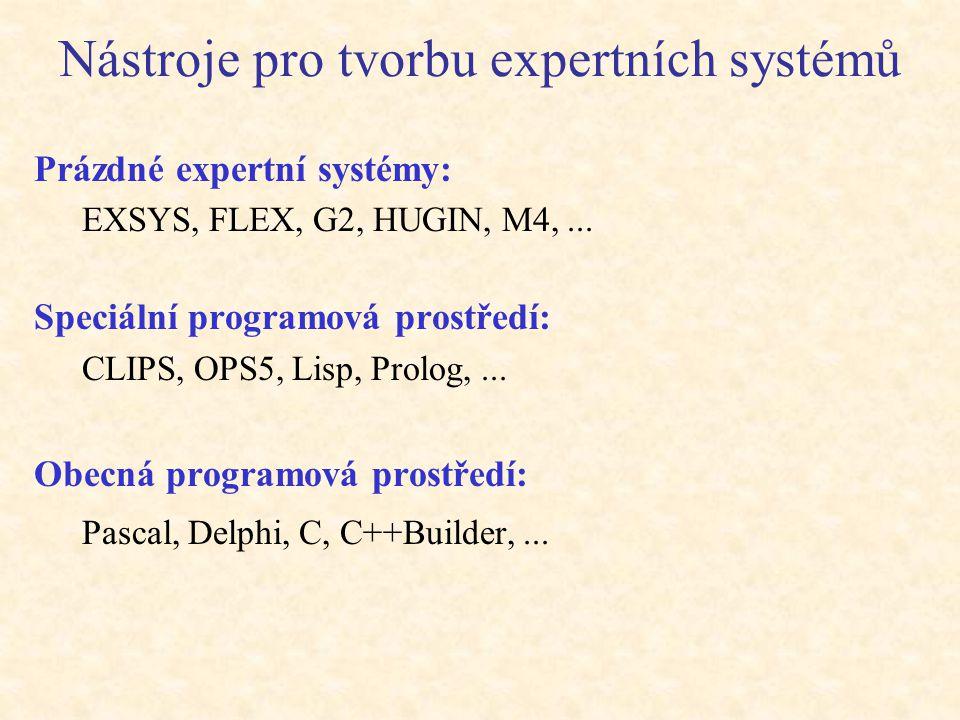 Tvorba ES Tvorba ES zahrnuje procesy:  získání a reprezentace znalostí,  návrh uživatelského rozhraní,  výběr hardwaru a softwaru,  implementace,