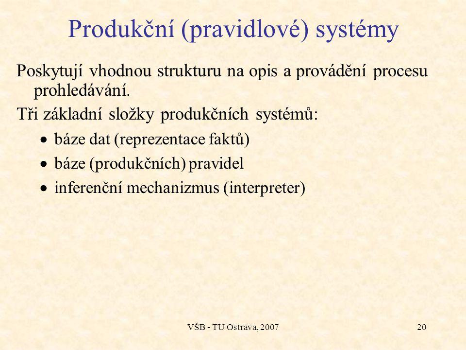 VŠB - TU Ostrava, 200719 Rozdělení expertních systémů dle úrovně jejich využívání  poradce - pomůcka experta na potvrzení či zpochybnění svých profes