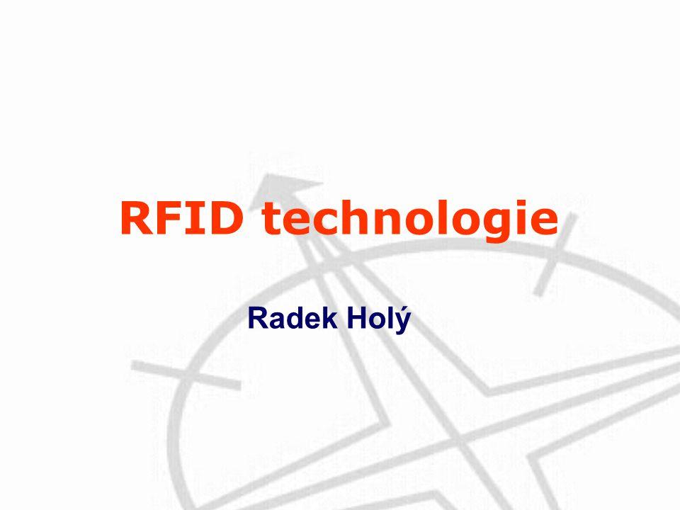 RFID technologie Radek Holý