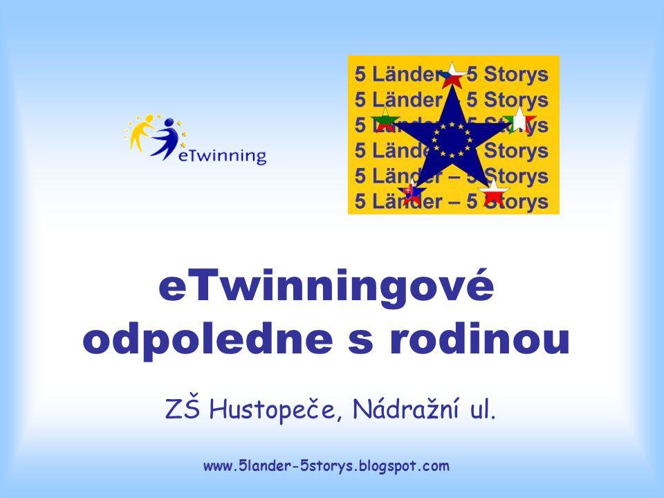 www.5lander-5storys.blogspot.com eTwinningové odpoledne s rodinou ZŠ Hustopeče, Nádražní ul.