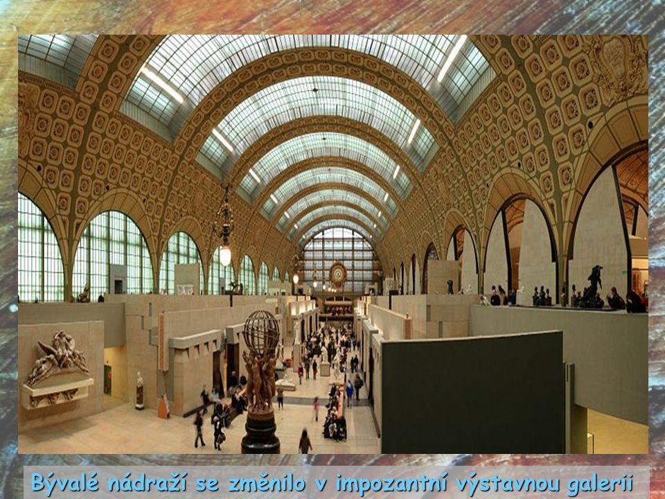 Bývalé nádraží se změnilo v impozantní výstavnou galerii