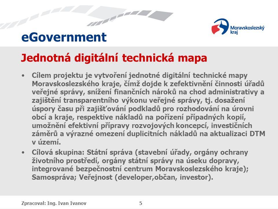 eGovernment Základní problémy typových projektů DMVS DTM Nalezení udržitelného finančního modelu provozní fáze projektu, tj.
