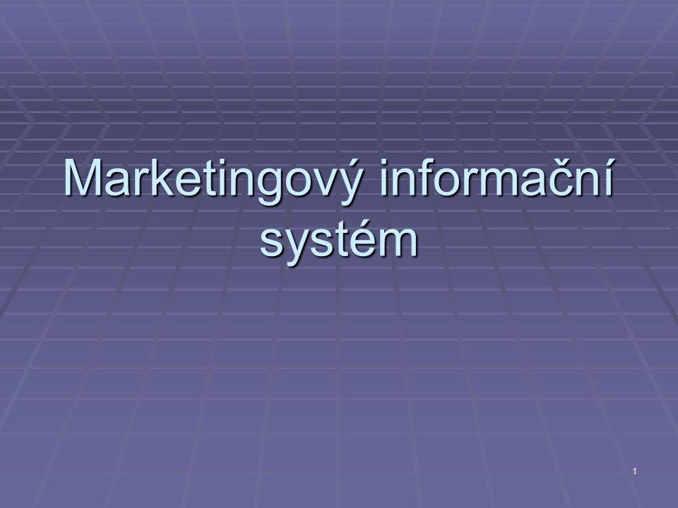 1 Marketingový informační systém