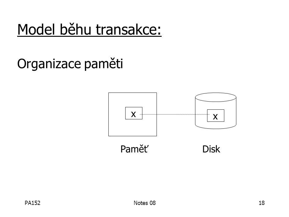 PA152Notes 0817 Je tento model rozumný? Přístup: Přidání kontrol na nejnižší úrovni + redundance zvýší pravděpodobnost zachování podmínek. Tj., Replik