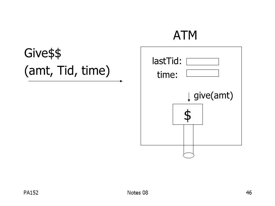 PA152Notes 0845 Řešení (1) provedení akcí reálného světa po commitu (2) akce pokud možno idempotentní