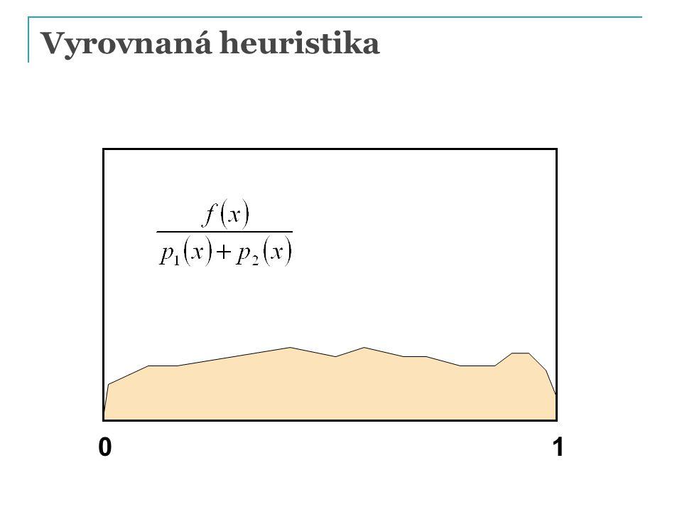 Vyrovnaná heuristika 01