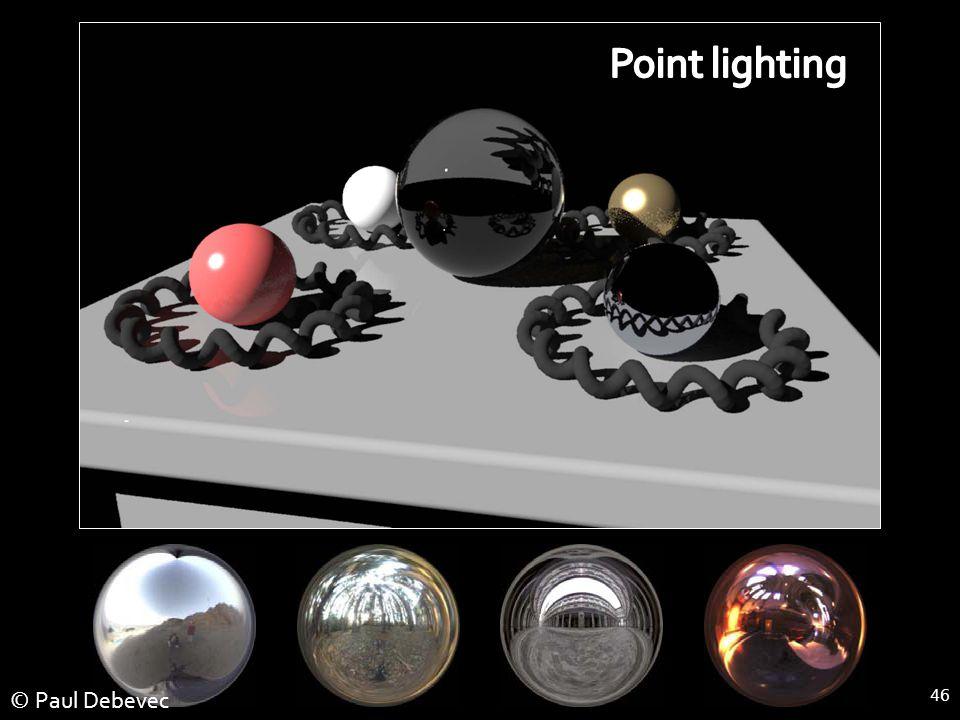 46 Point Light Source © Paul Debevec