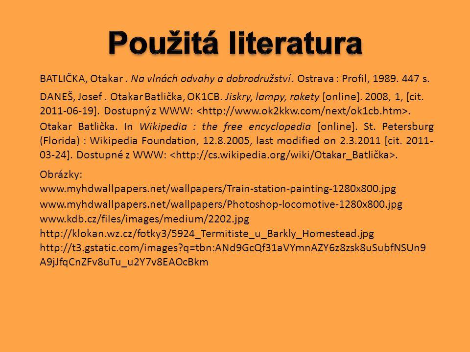 Otakar Batlička.In Wikipedia : the free encyclopedia [online].