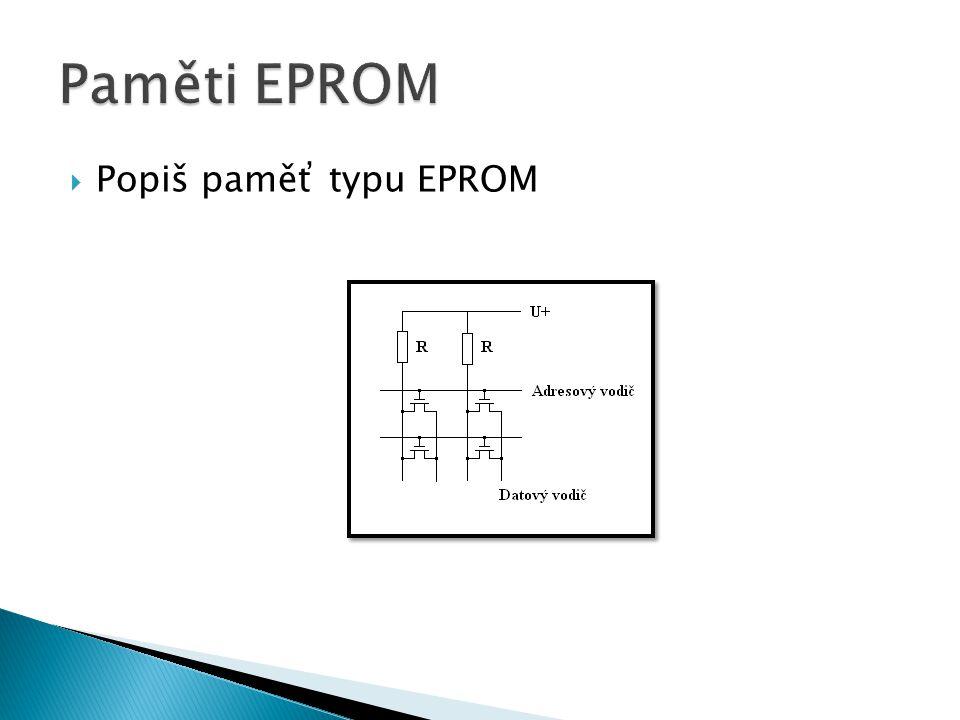  Popiš paměť typu EEPROM