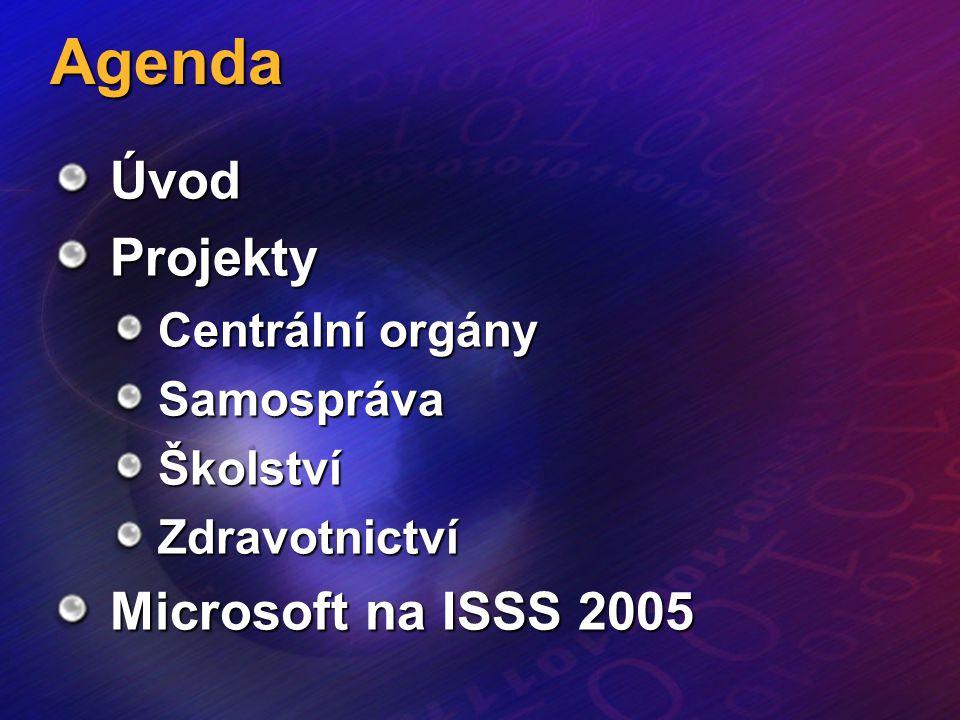 4. 4. 2005ISSS205 Jak Microsoft pomáhá veřejné správě České republiky.