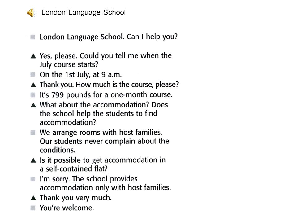 London Language School
