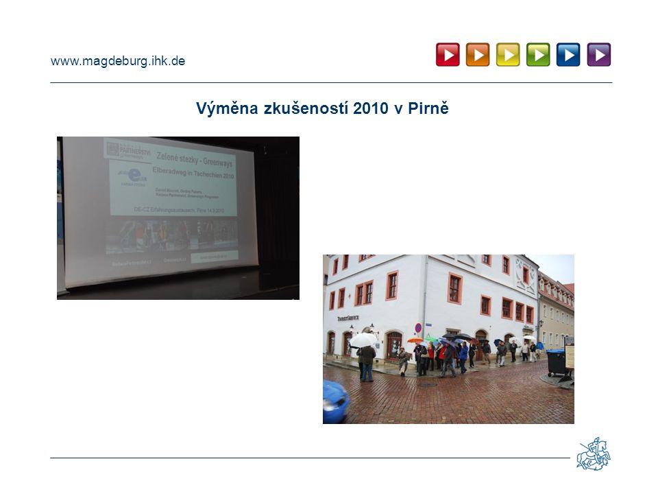 www.magdeburg.ihk.de Výměna zkušeností 2012 v Ústí nad Labem