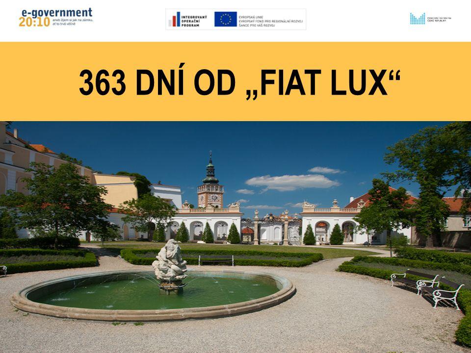 """363 DNÍ OD """"FIAT LUX"""