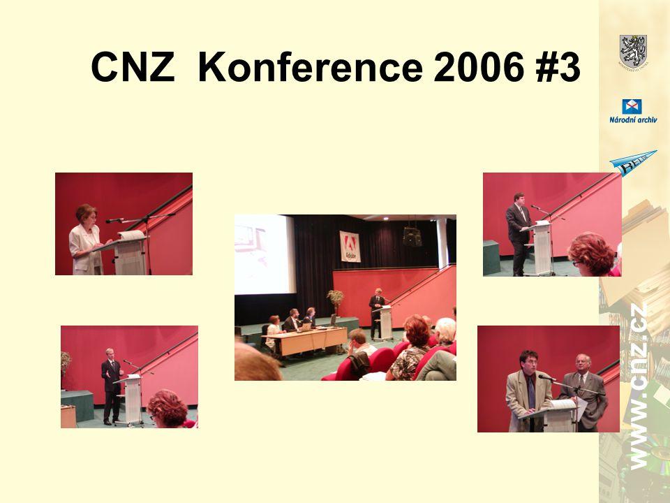 www.cnz.cz CNZ Konference 2006 #3