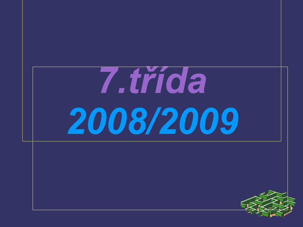7.třída 2008/2009