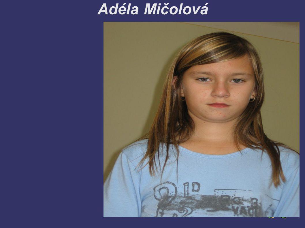 Adéla Mičolová