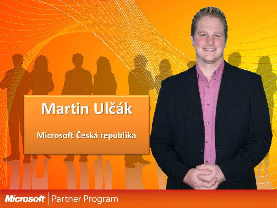 Martin Ulčák Microsoft Česká republika