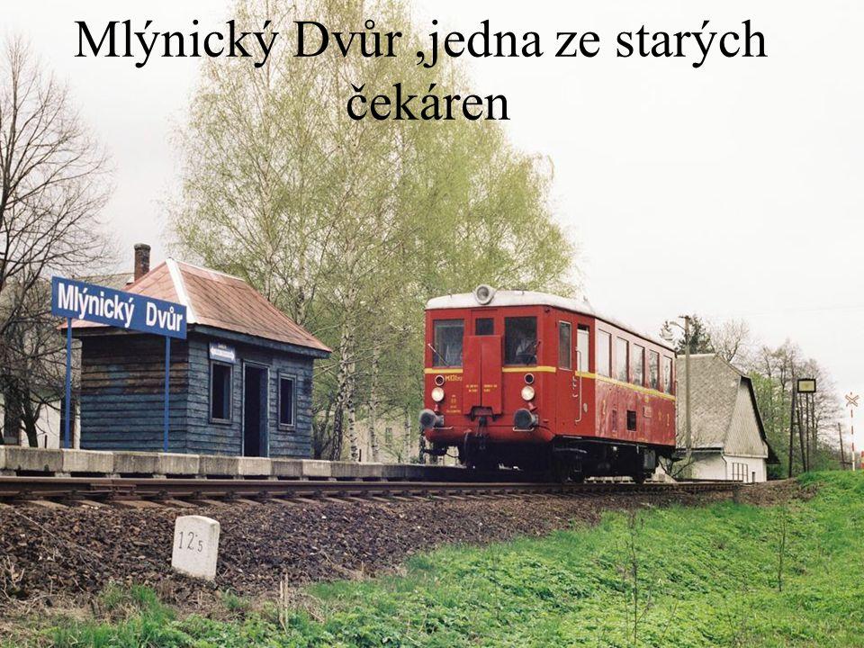 …kdysi významná stanice Moravský Karlov