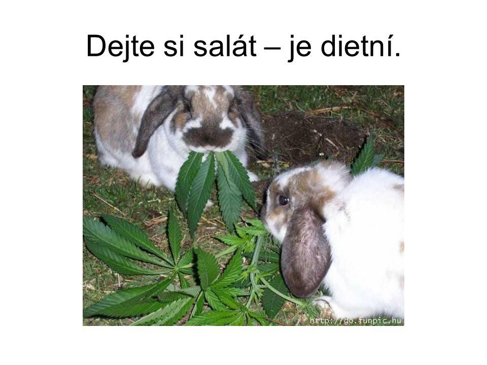 Dejte si salát – je dietní.