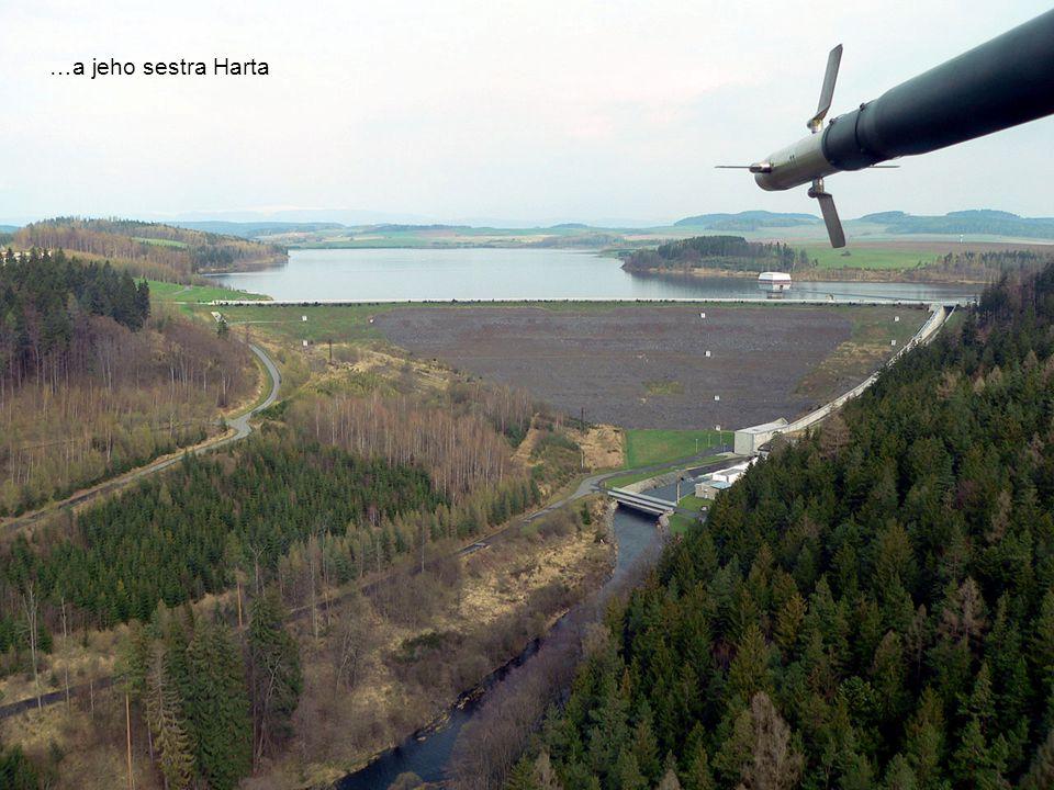 Lázeňské město Jeseník s Albatrosem v popředí
