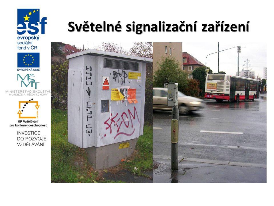 Světelné signalizační zařízení -do 20. století řídili dopravu policisté -první SSZ v roce 1924 na křižovatce Postdamer Platz v Berlíně -soustava zaříz