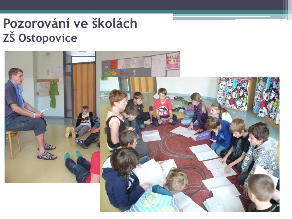Pozorování ve školách ZŠ Ostopovice