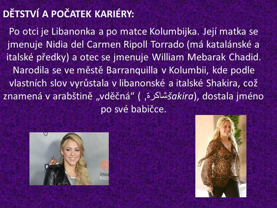 Shakira Isabel Mebarak Ripoll [šakyra izabel mebarak ripoj] (* 2.