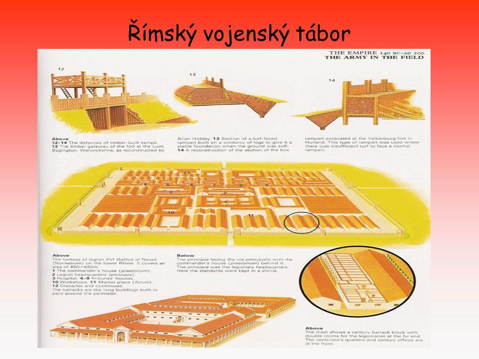 Římský vojenský tábor