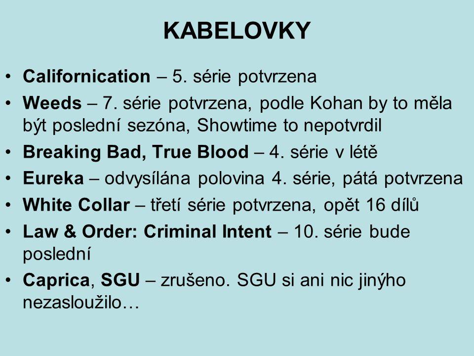 KABELOVKY Californication – 5. série potvrzena Weeds – 7.