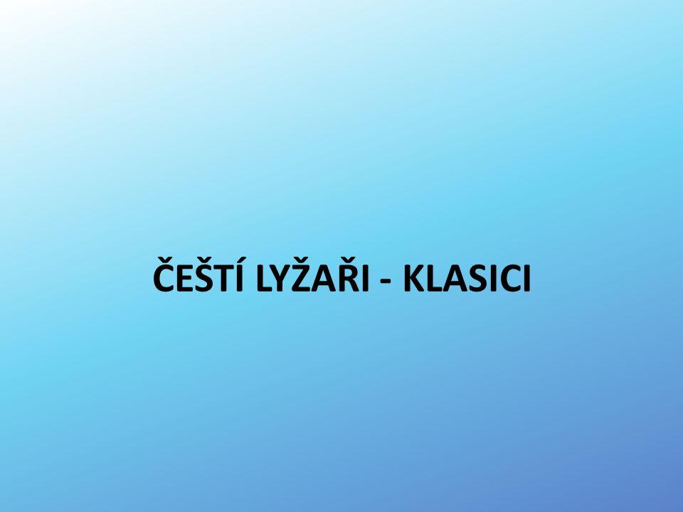 ČEŠTÍ LYŽAŘI - KLASICI