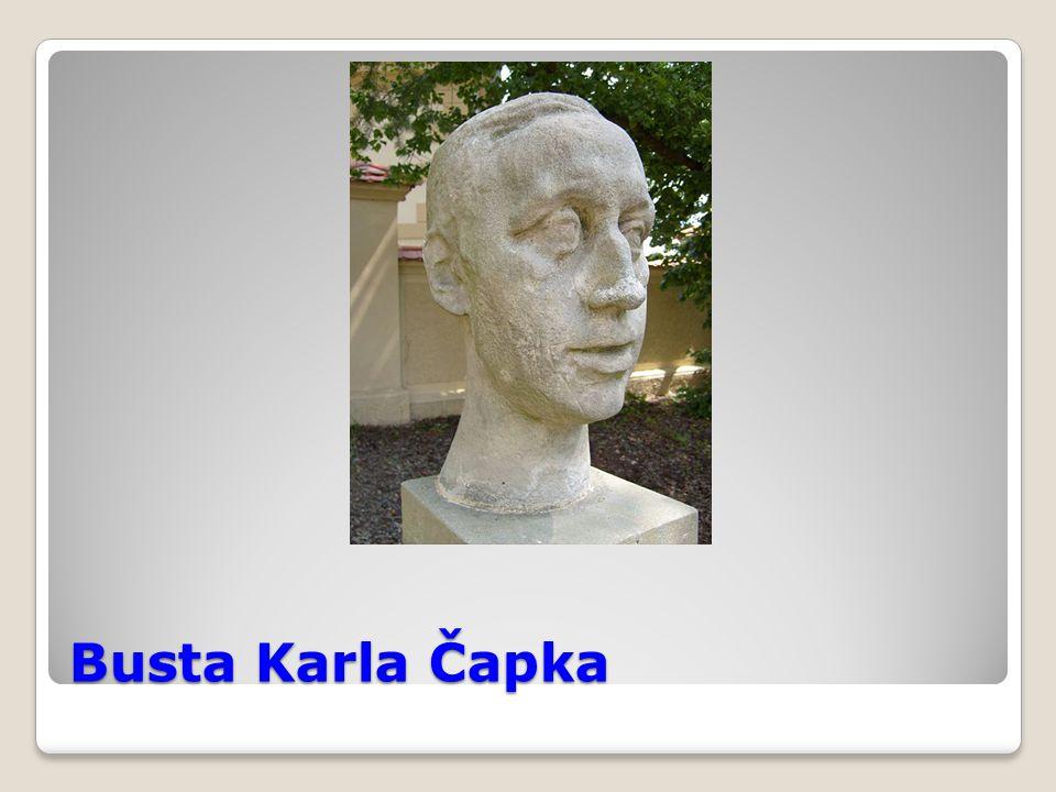 Busta Karla Čapka