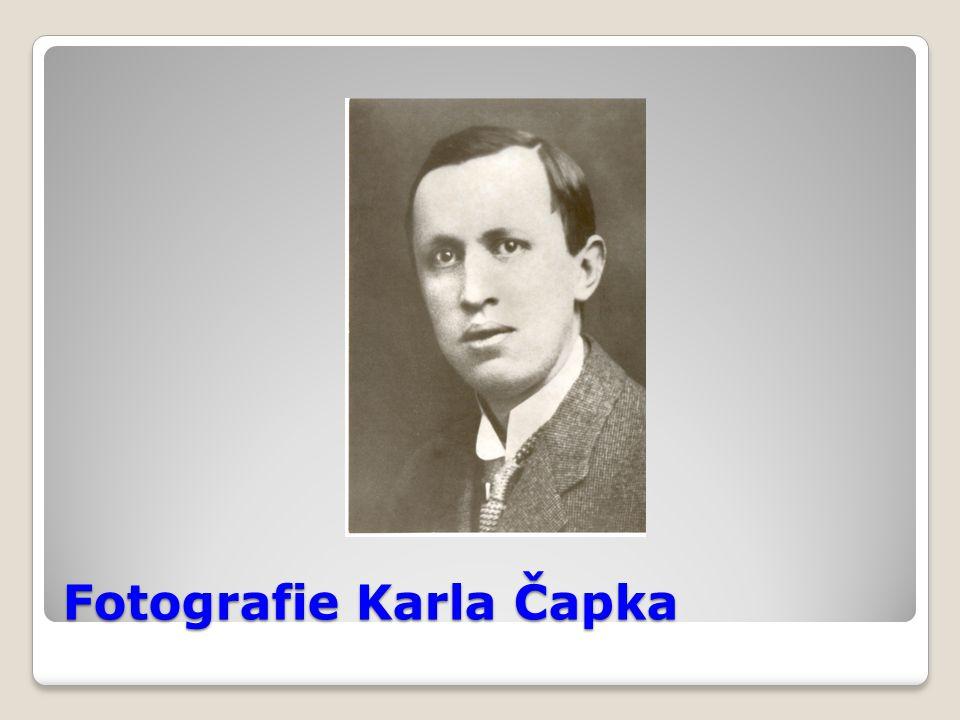 Fotografie Karla Čapka