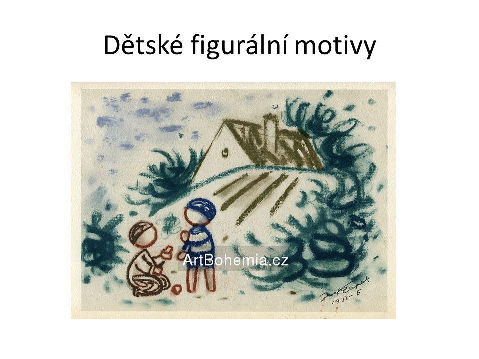Dětské figurální motivy