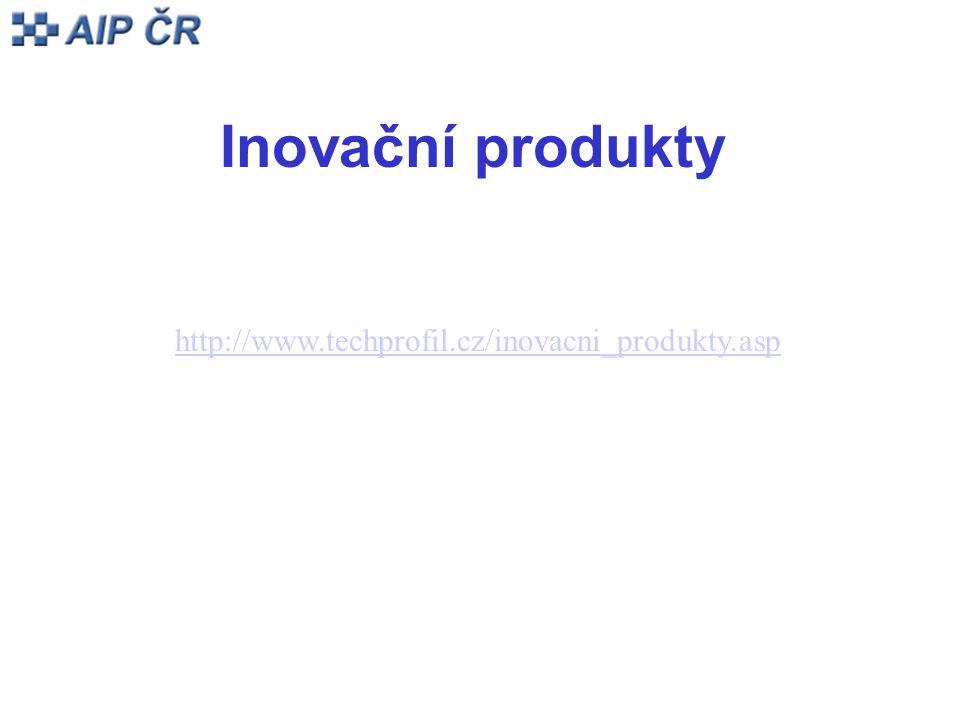 Inovační produkty http://www.techprofil.cz/inovacni_produkty.asp