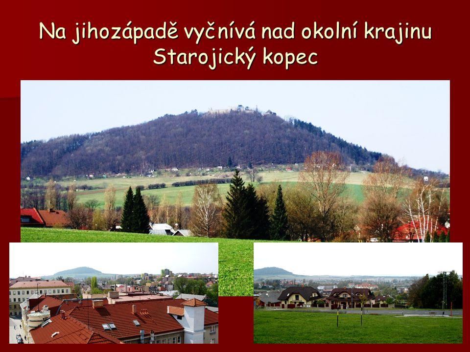 Jihozápad a jih od Nového Jičína Starý Jičín, Loučka, Kojetín, Bludovice, Žilina