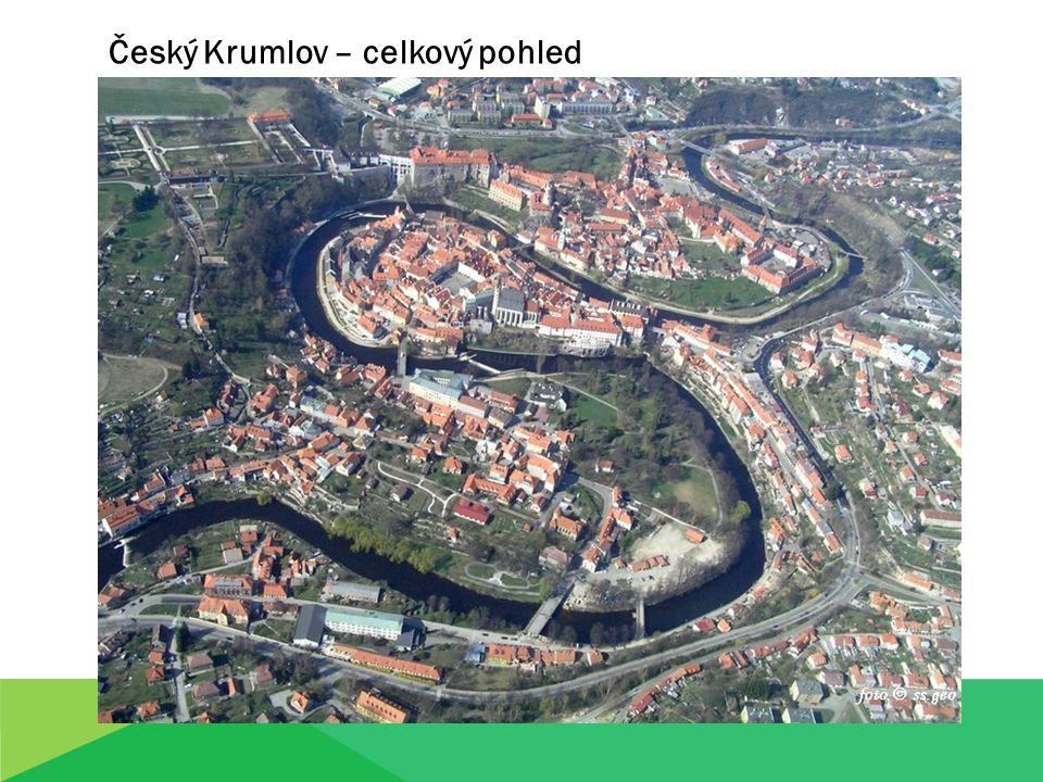 Český Krumlov – celkový pohled