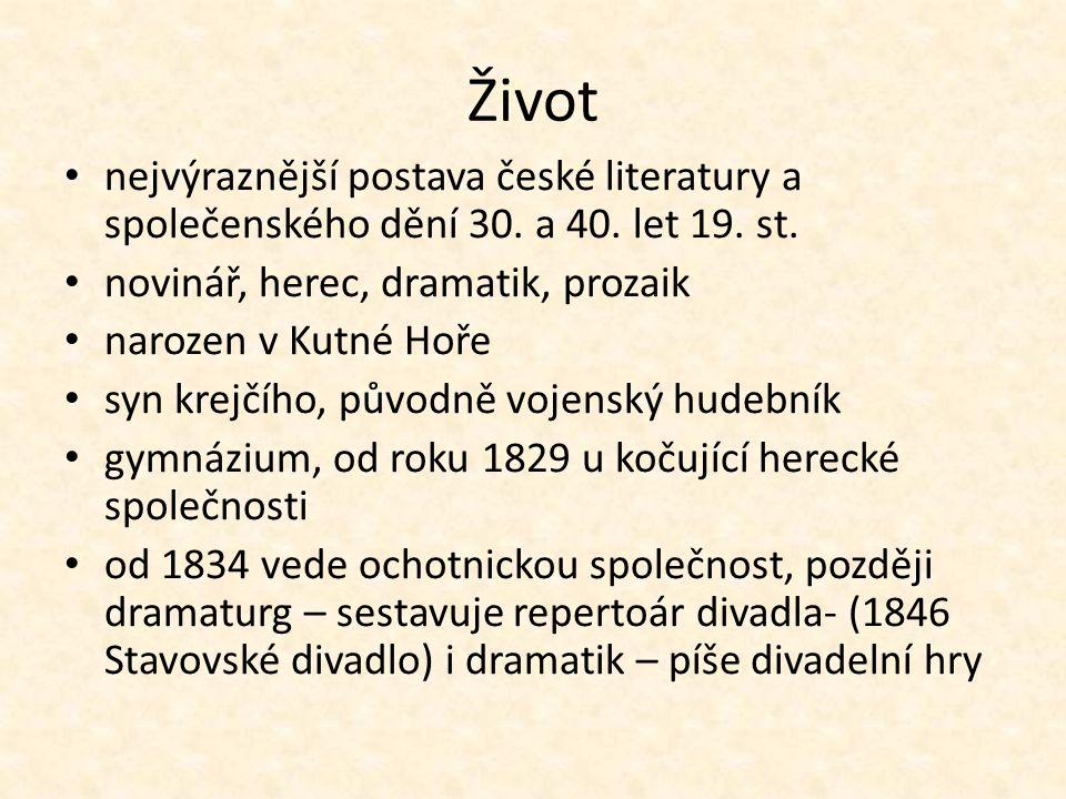 Život nejvýraznější postava české literatury a společenského dění 30.