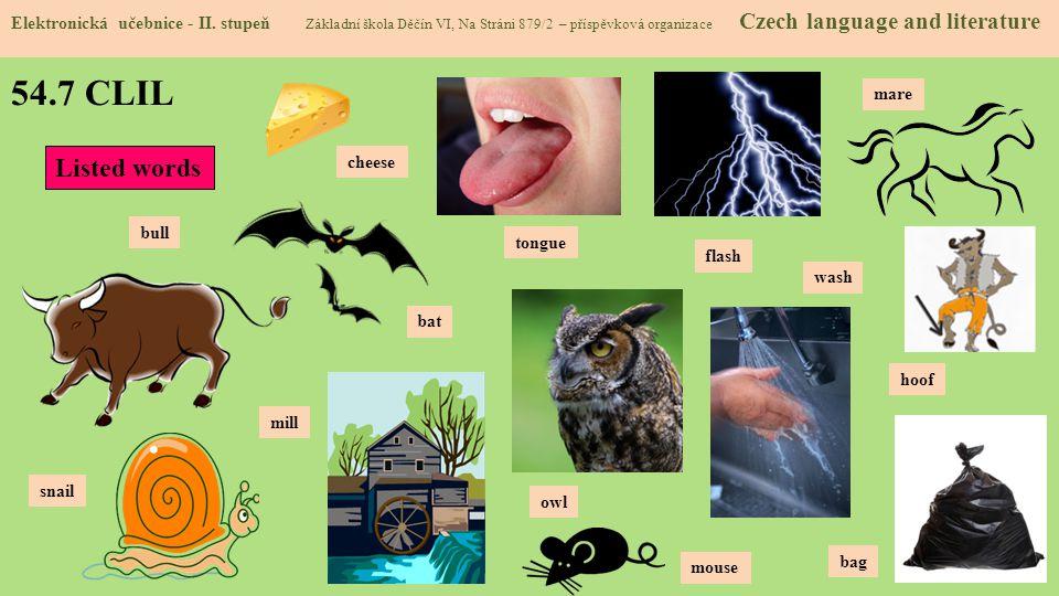 54.7 CLIL Elektronická učebnice - II.