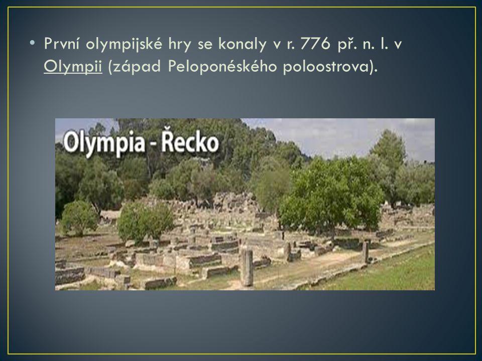 Místo medailí dostávali vítězové olivové věnce, získali velkou slávu a v rodném městě jim např.