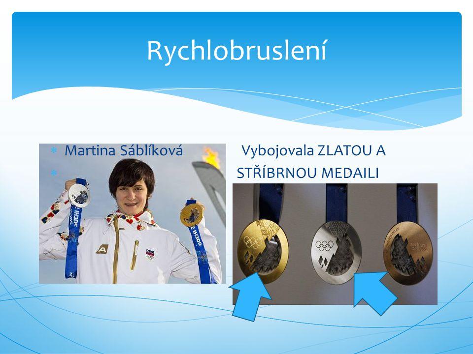  Češi vyhráli stříbrné medaile.  Moravec stříbrnou.