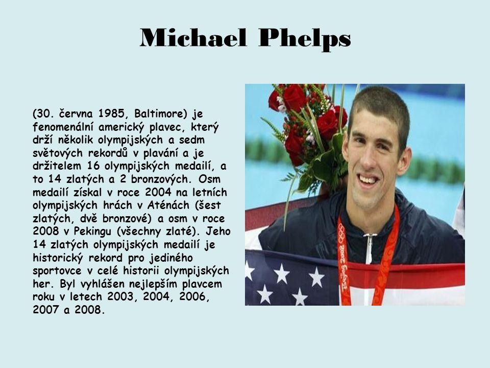 Michael Phelps (30.