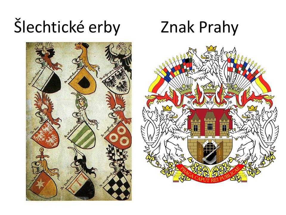 Šlechtické erby Znak Prahy